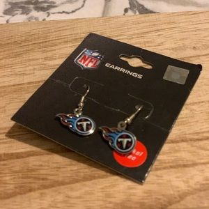 Titans NFL Dangle Earrings